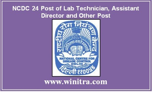 NCDC 24 Post of Lab Technician, Assistant Director and Other Post