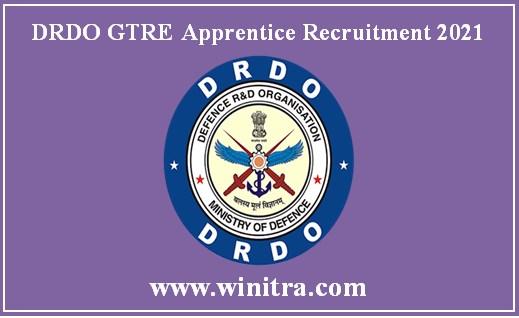 DRDO GTRE Apprentice Recruitment 2021 150 Vacancies Notified, Apply Online from tomorrow @rac.gov.in