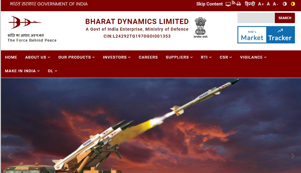 BDL Recruitment 2021 Apply for 70 Project Eng Officer