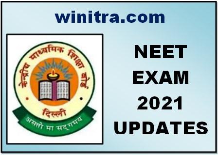 NEET Exam 2021