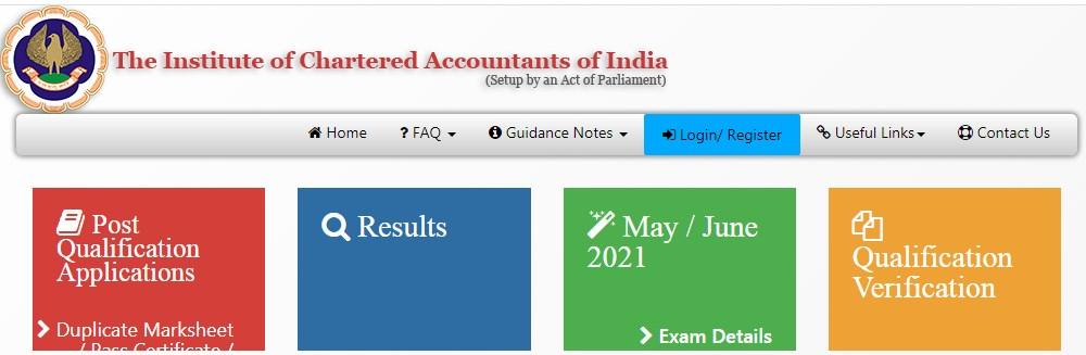 ICAI CA 2021 Apply till 4 May 2021