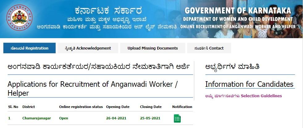 Anganwadi & Helper Jobs 2021