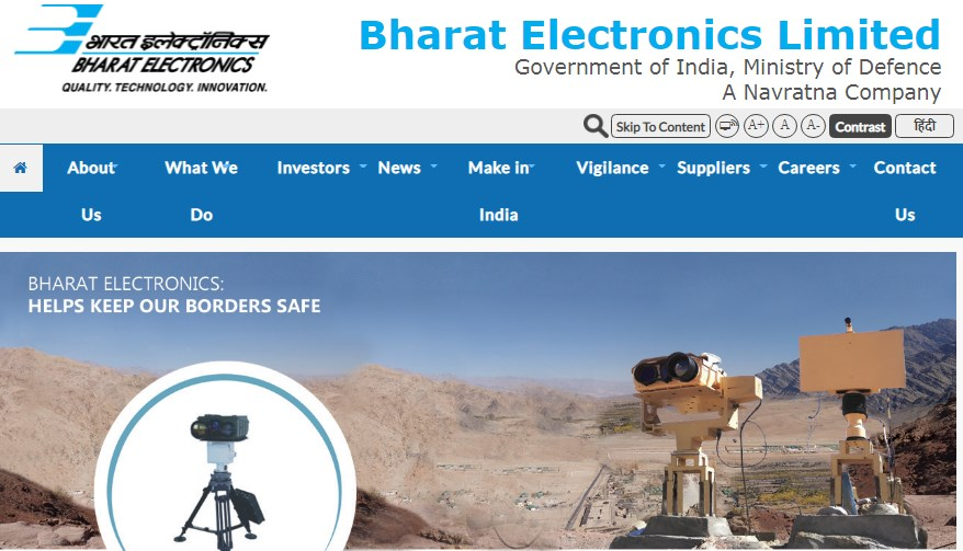 Bharat Electronics Limited BEL Trainee Engineer Recruitment 2021