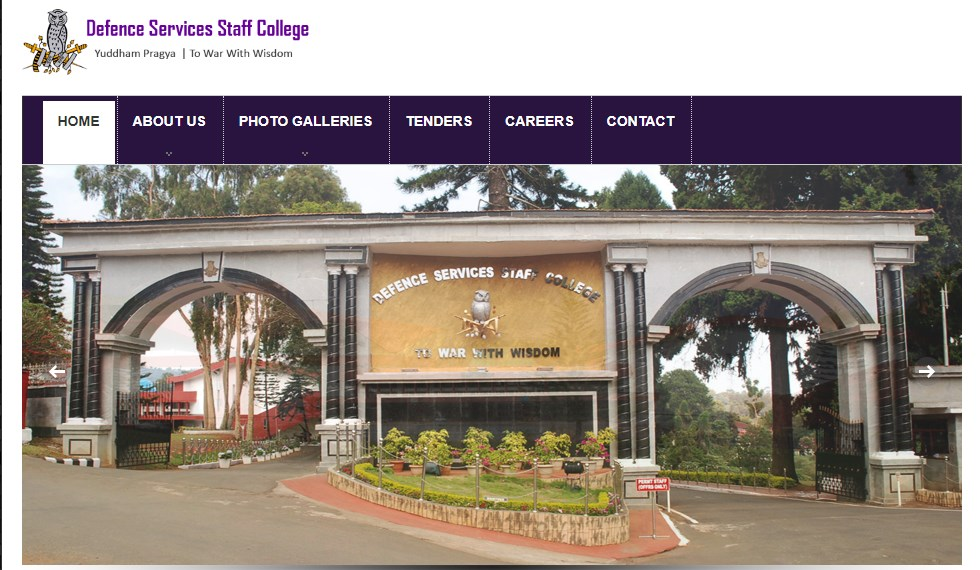 Defence Services Staff College Group C Recruitment 2021