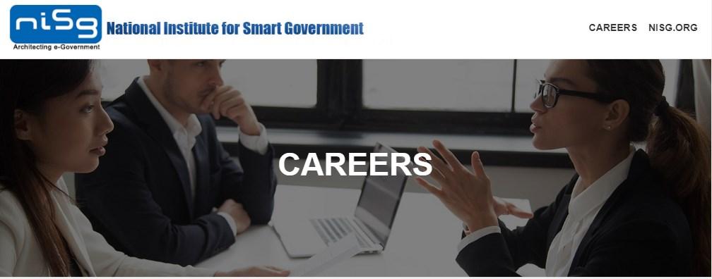 National Institute for Smart Government (NISG) Recruitment 2021