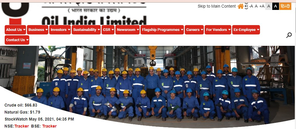 Oil India Recruitment 2021 Apply 119 Various Posts