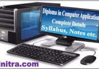 Diploma in Computer Application DCA