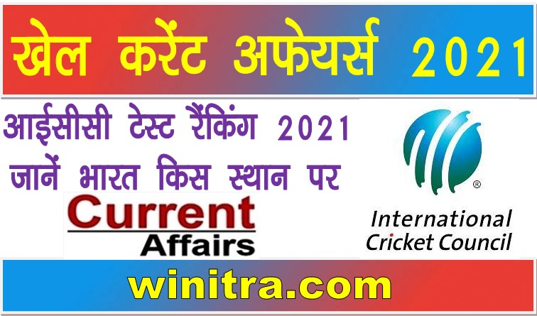 ICC Test Ranking 2021 Know Where India Is