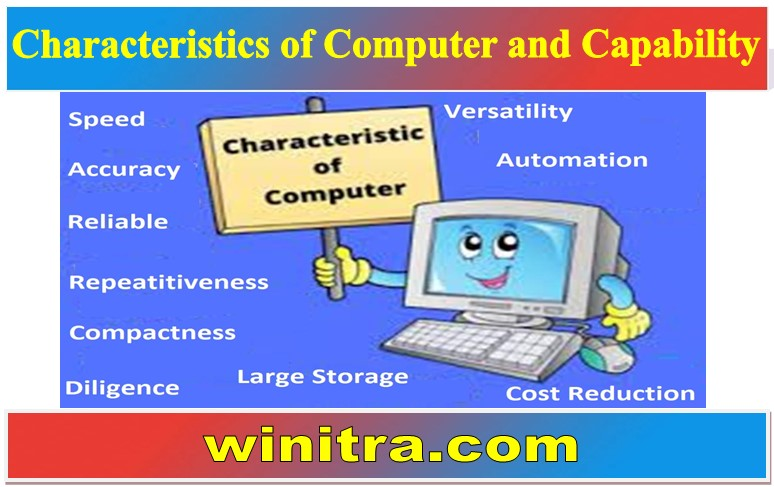 Characteristics of Computer and Capability