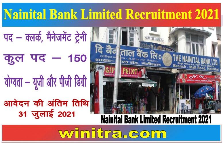 Nainital Bank Limited Recruitment 2021