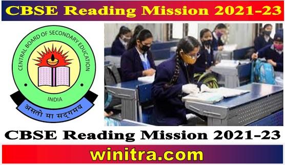CBSE Reading Mission 2021-23