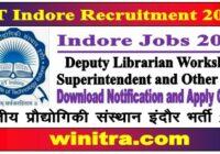 Indore Jobs 2021