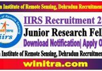 Junior Research Fellow