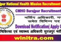 Surajpur National Health Mission Recruitment 2021