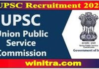 UPSC Recruitment 2021 Apply For 64 Assistant Director & Other Posts